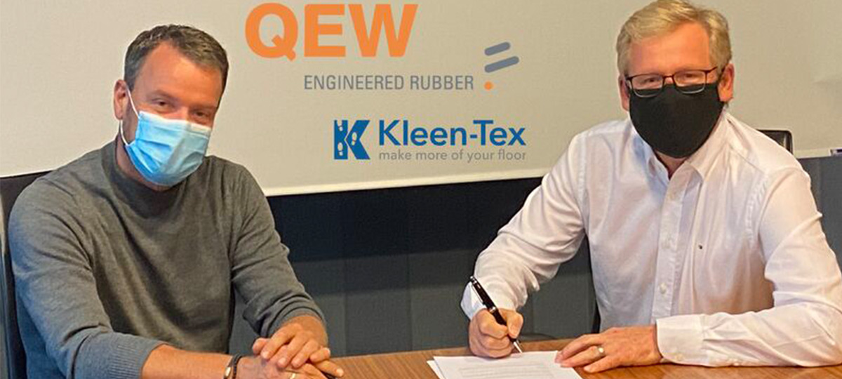 QEW and Kleen-Tex Europe signing agreement